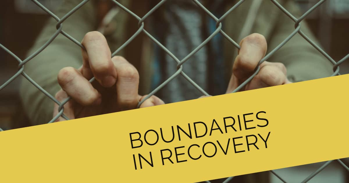 boundaries in recovery