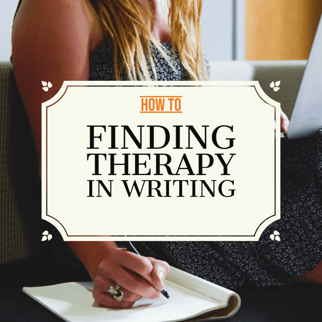 therapy in writing